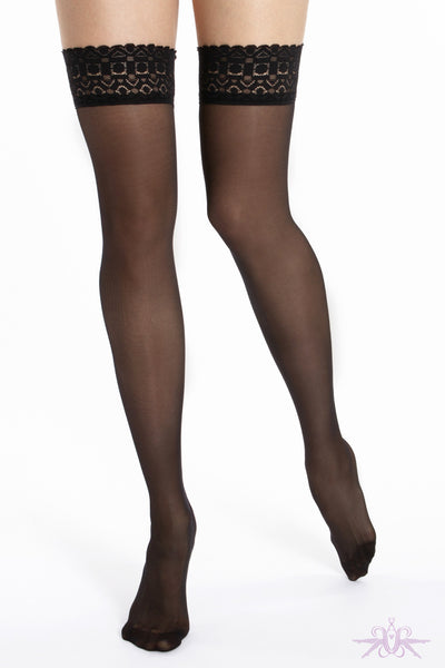 Le Bourget Grace 30D Hold Ups - Mayfair Stockings