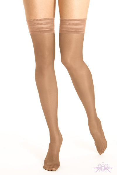 Le Bourget Satine 20D Hold Ups - Mayfair Stockings