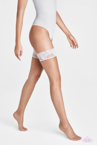 Wolford Nude 8 Lace Stay Ups
