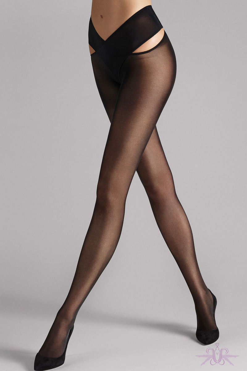 Wolford Stay-Hip Individual 12 Tights - Mayfair Stockings