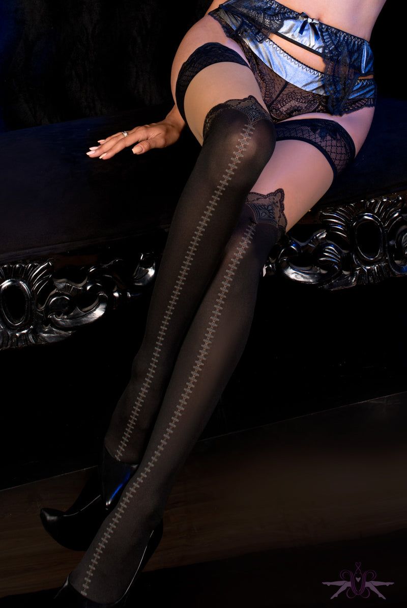 Ballerina Nashville Hold Ups - Mayfair Stockings