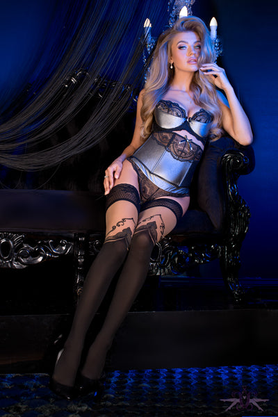Ballerina Denver Hold Up - Mayfair Stockings