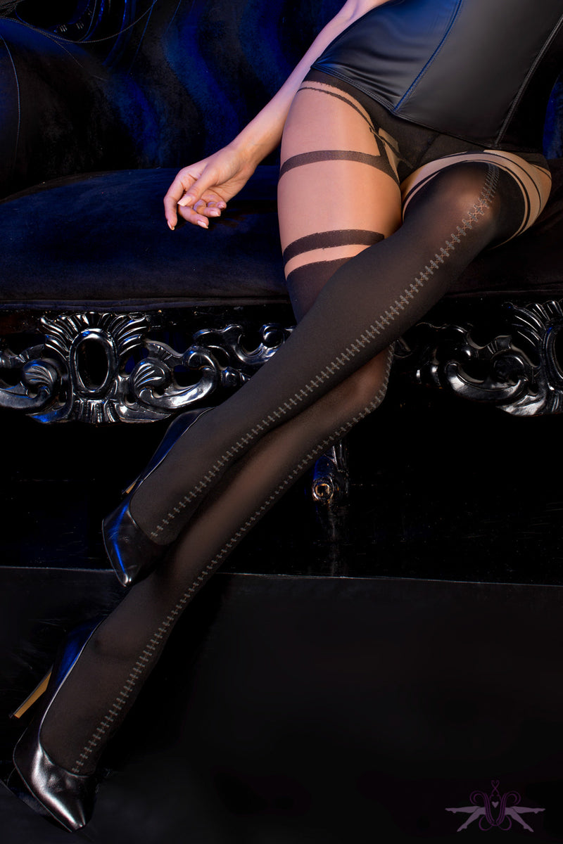Ballerina New Orleans Tights - Mayfair Stockings