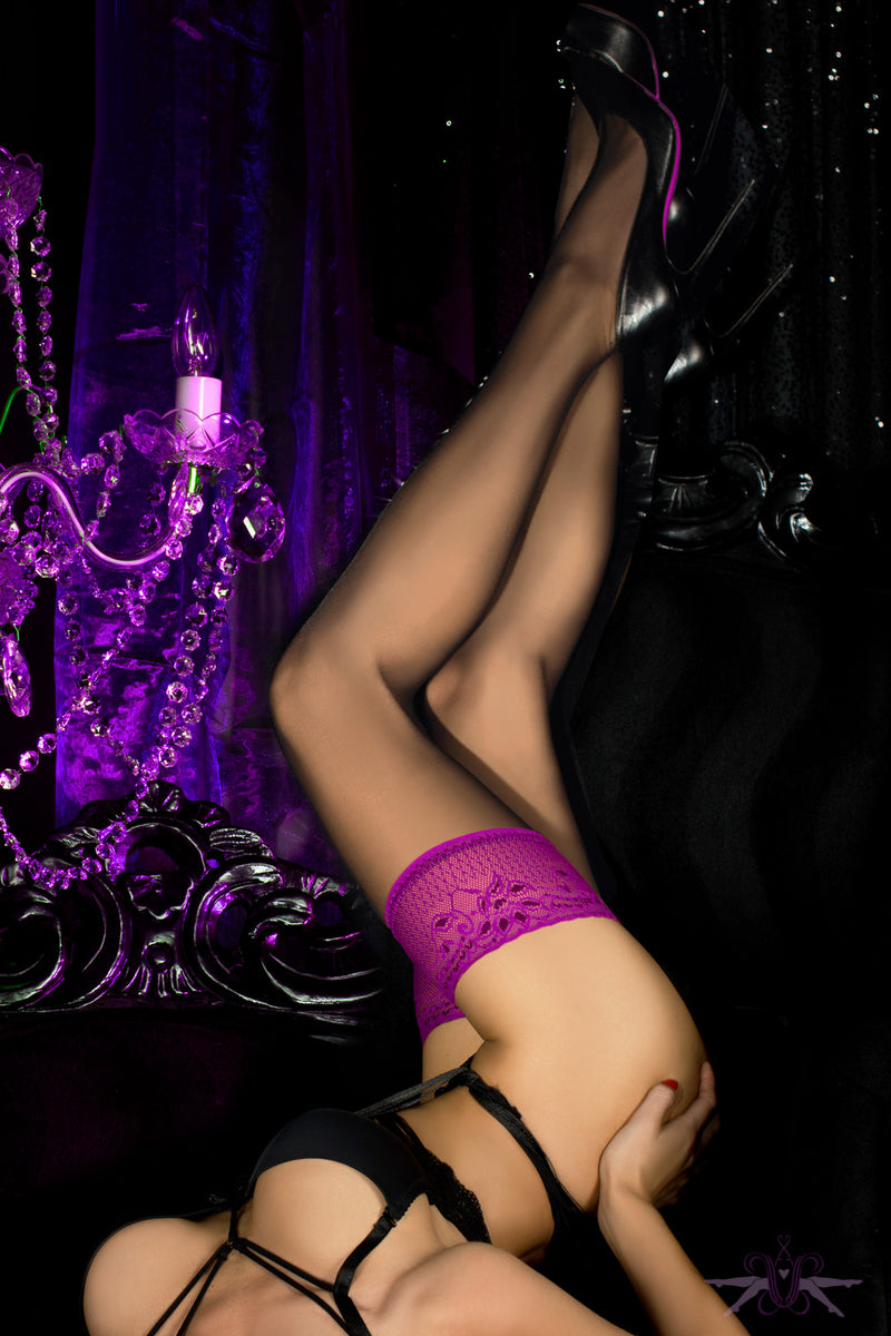 Ballerina Dallas Hold Ups - Mayfair Stockings