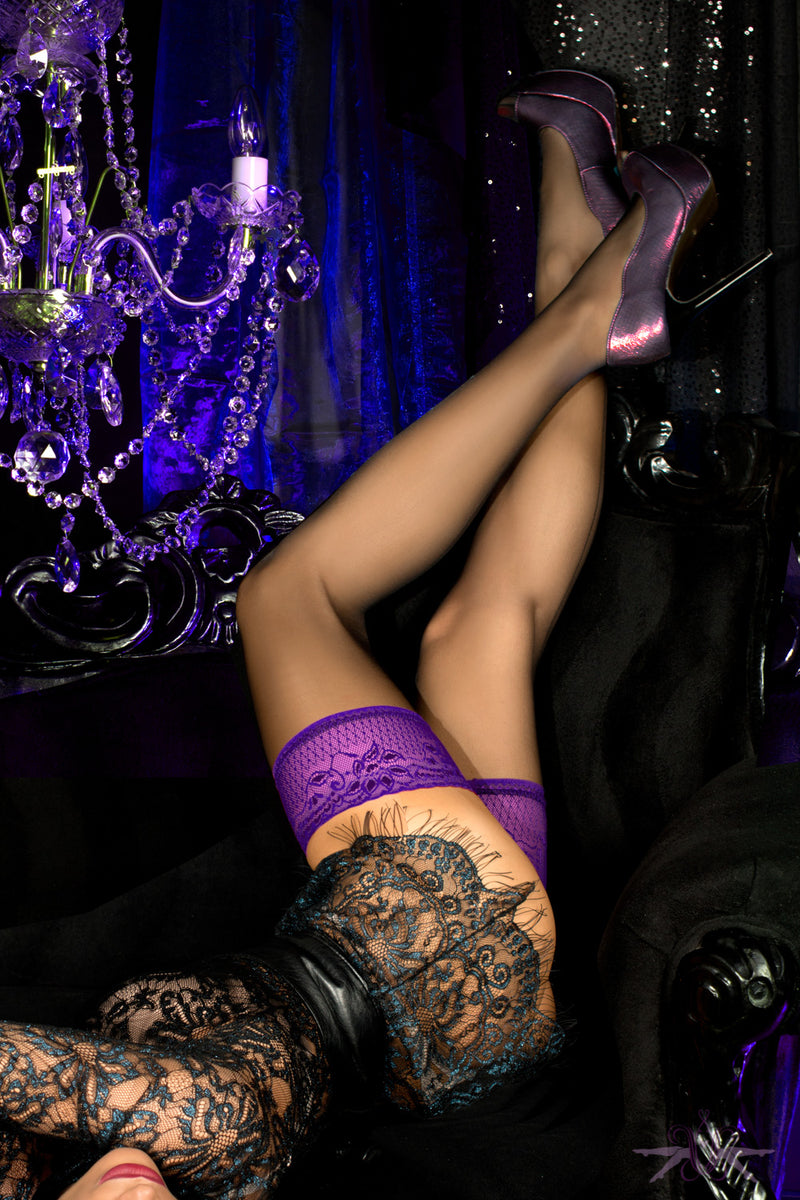 Ballerina Dakota Hold Ups - Mayfair Stockings