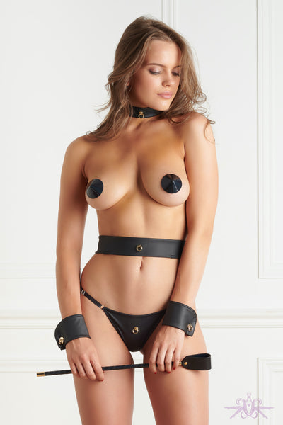 Maison Close Chambre Noire Collar - Mayfair Stockings