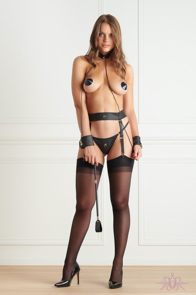 Maison Close Chambre Noire Suspender Belt - Mayfair Stockings