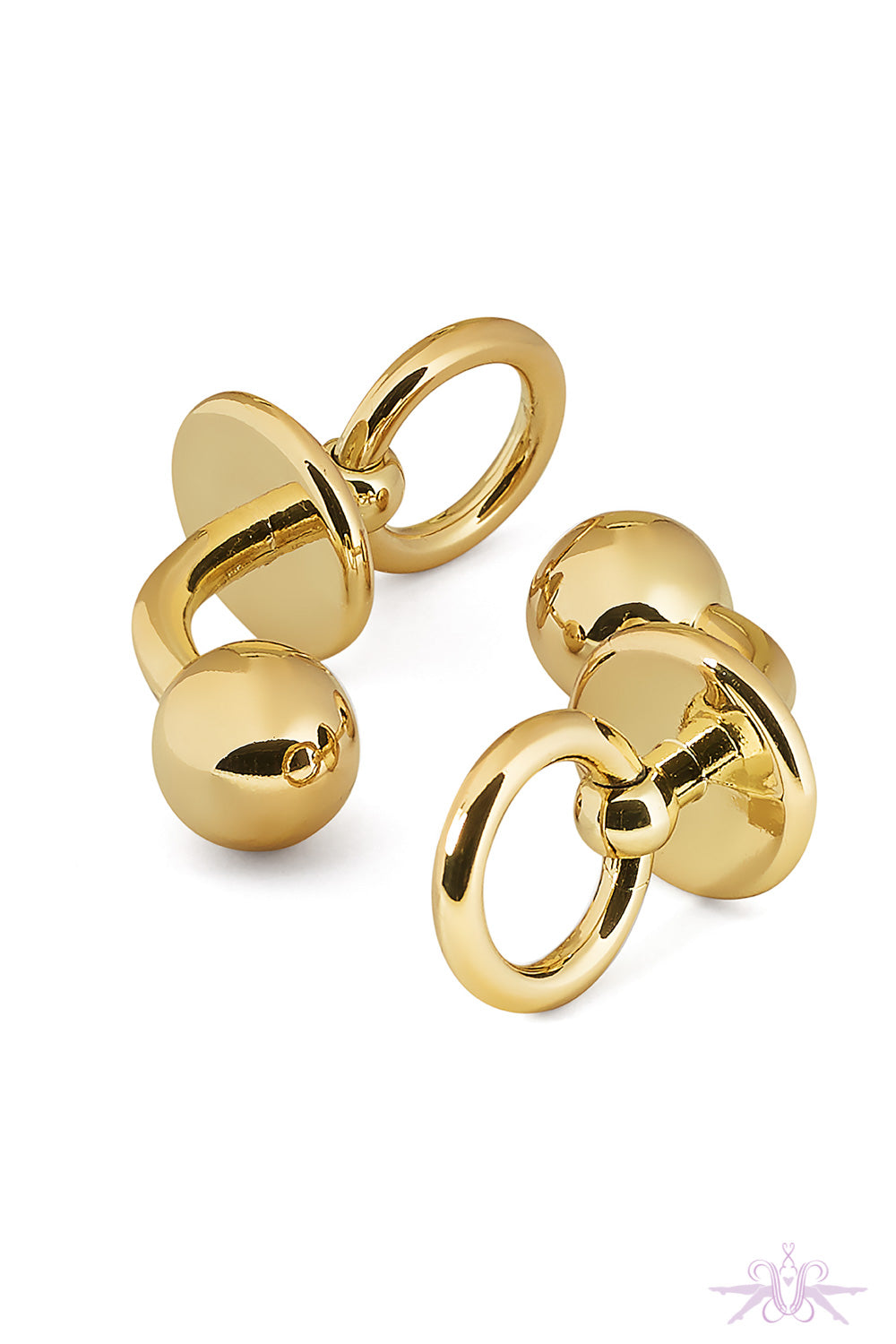 Maison Close Chambre Noire Gold Cufflinks - Mayfair Stockings