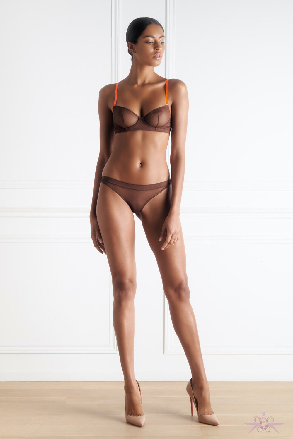 Maison Close Corps a Corps Chocolate Brief