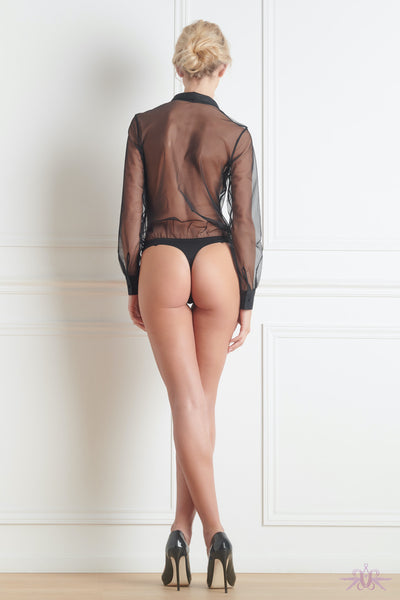 Maison Close Madame Reve Shirt Bodysuit