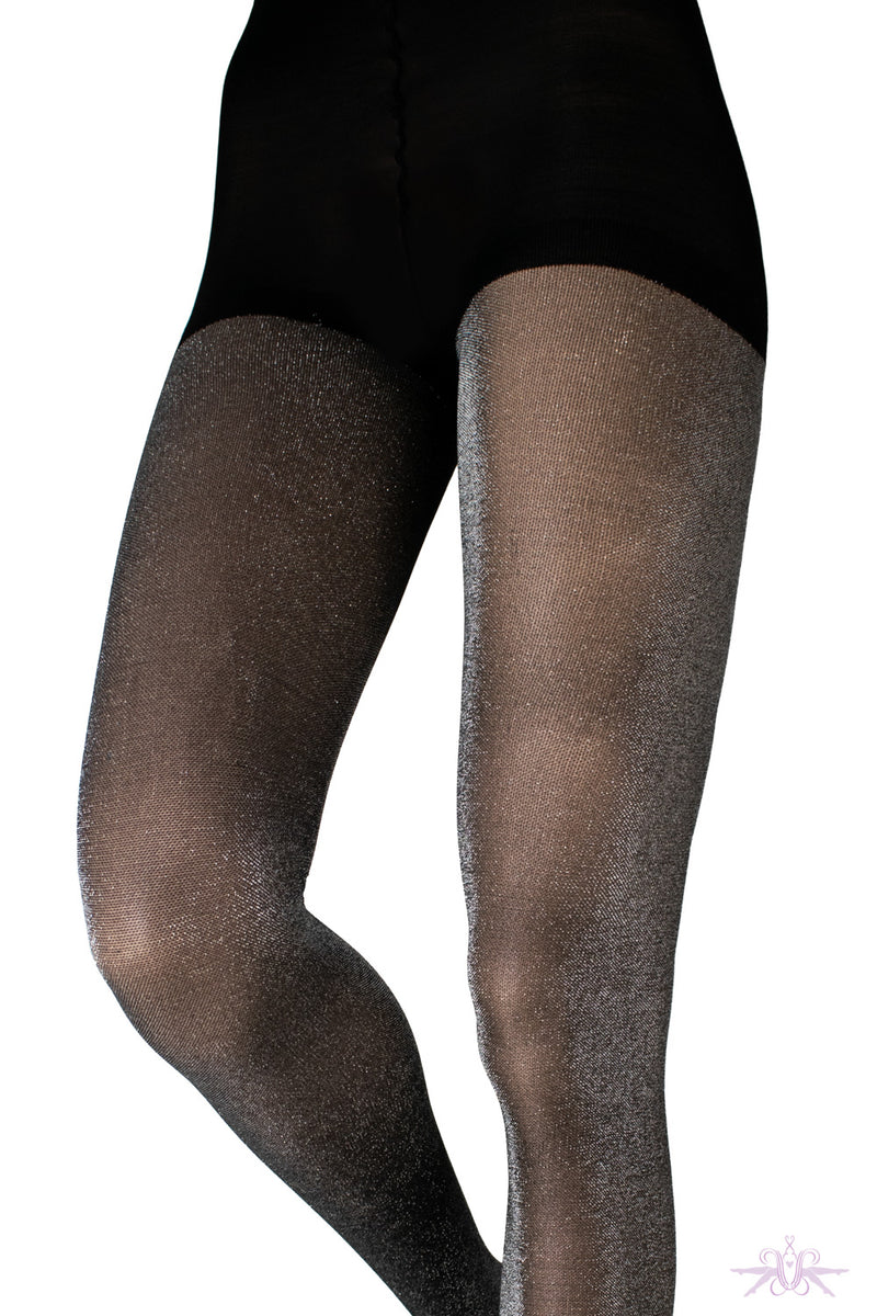 Couture Glitter Opaque Tights