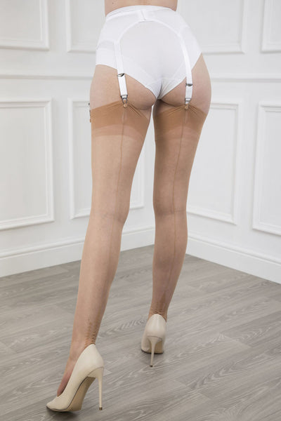 Gio Memphis Heel Fully Fashioned Stockings