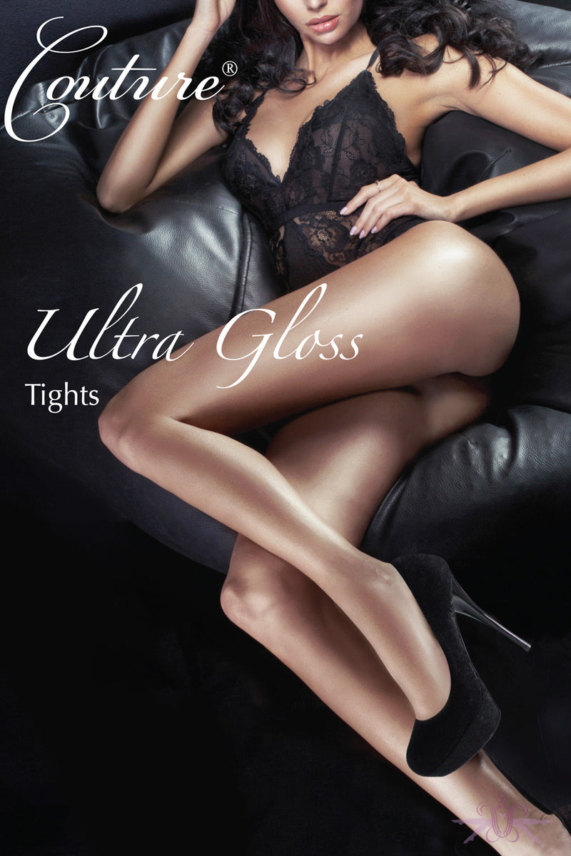 Couture Ultra Gloss Tights - Mayfair Stockings