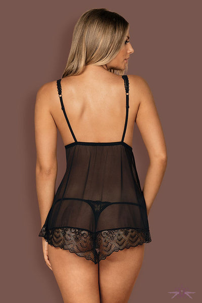 Obsessive Firella Babydoll and Thong