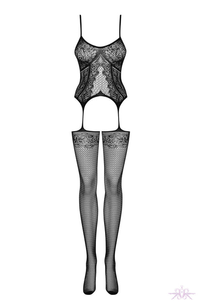 Obsessive Lace Knit Bodystocking
