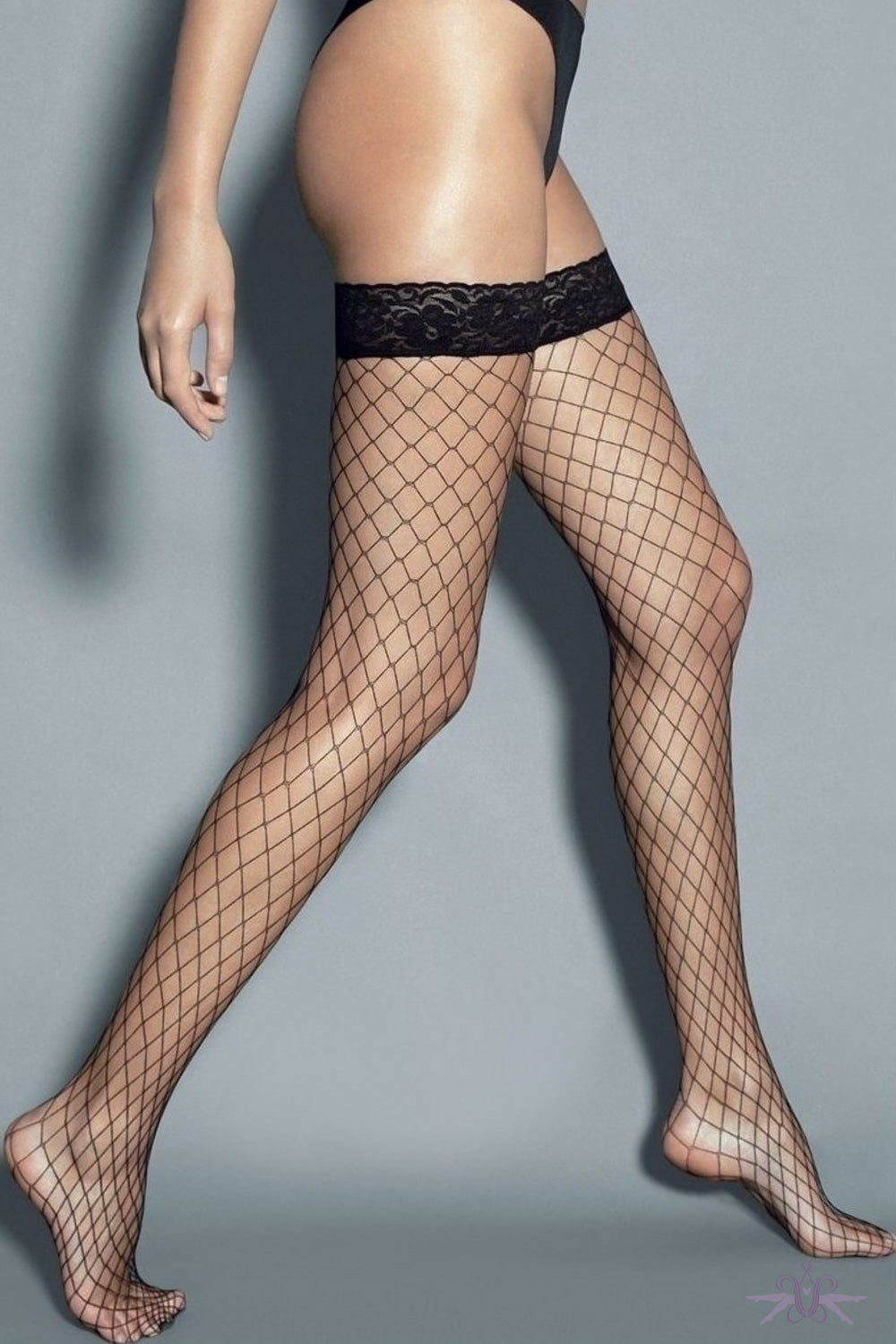 Veneziana Grande Fishnet Hold Ups