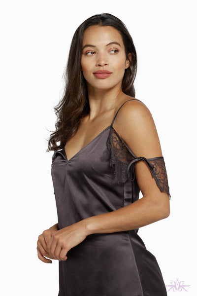 Wolf & Whistle Adrienne Grey Chemise