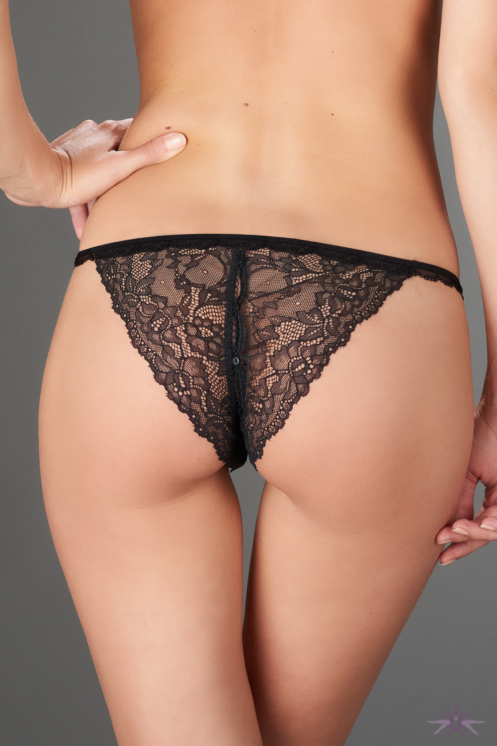 Maison close le petit secret dentelle openable tanga for Maison close
