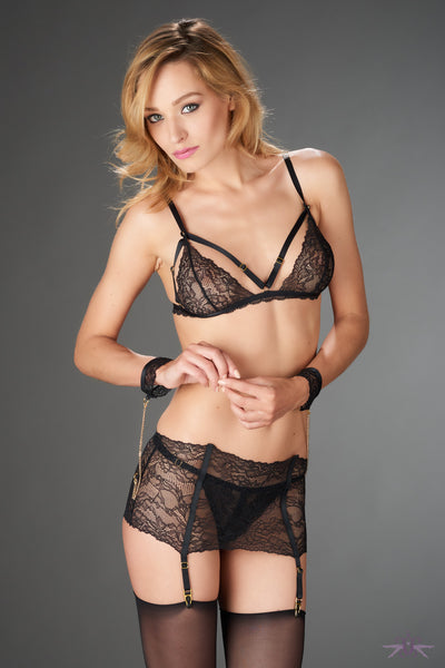 Maison Close Le Petit Secret Dentelle Garter Belt - Mayfair Stockings