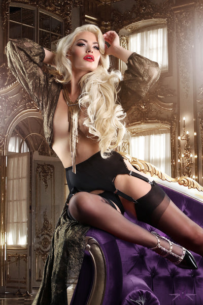 Mayfair Nylon Stockings in Black