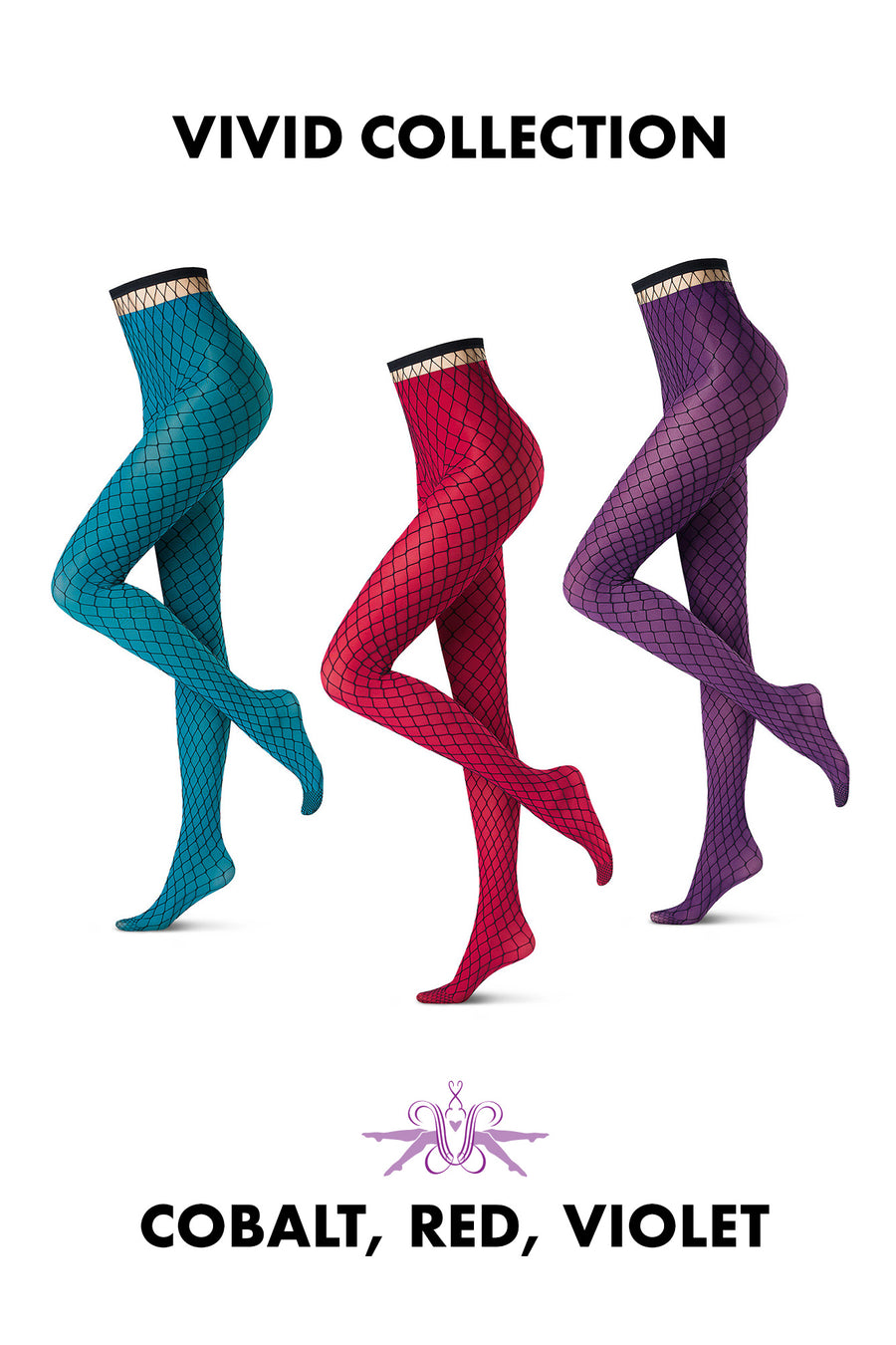 Oroblu Fishnet Glamour and All Colours 50 Tights - Mayfair Stockings