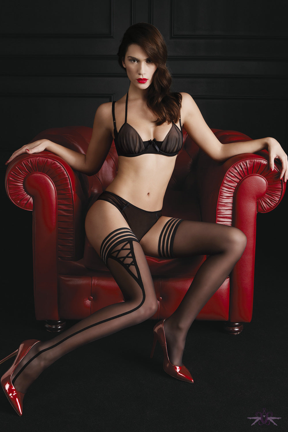Oroblu Sensual Hold Ups - Mayfair Stockings