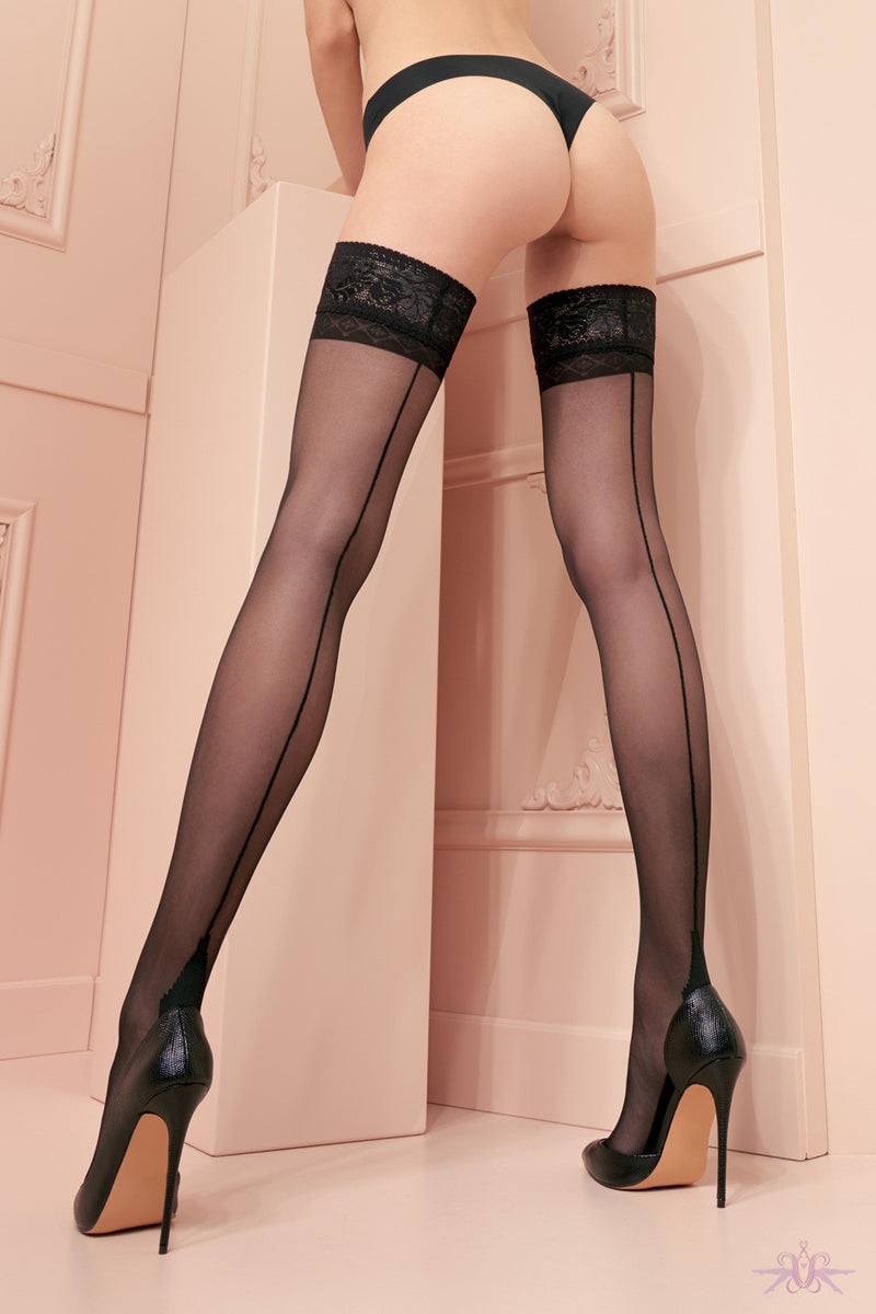 Trasparenze Pennac Hold Ups - Mayfair Stockings