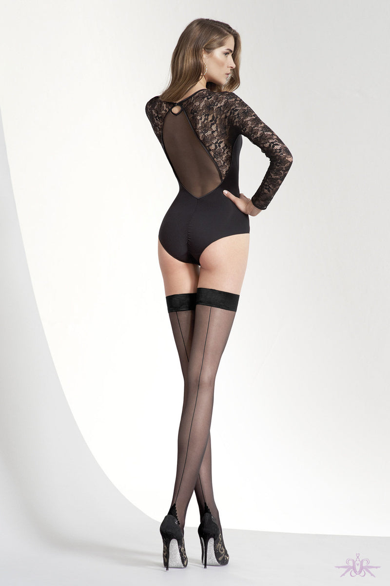 Oroblu Riga 20 Hold Ups - Mayfair Stockings