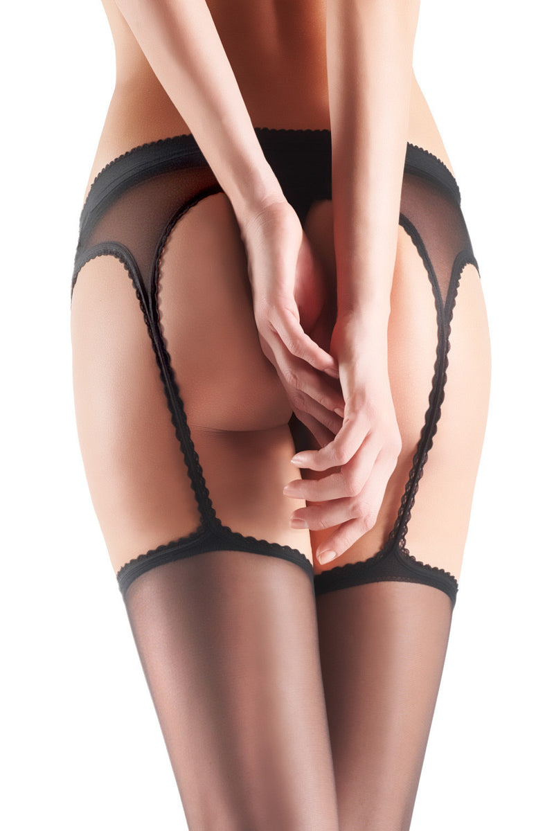 Oroblu Temptation Suspender Tights - Mayfair Stockings