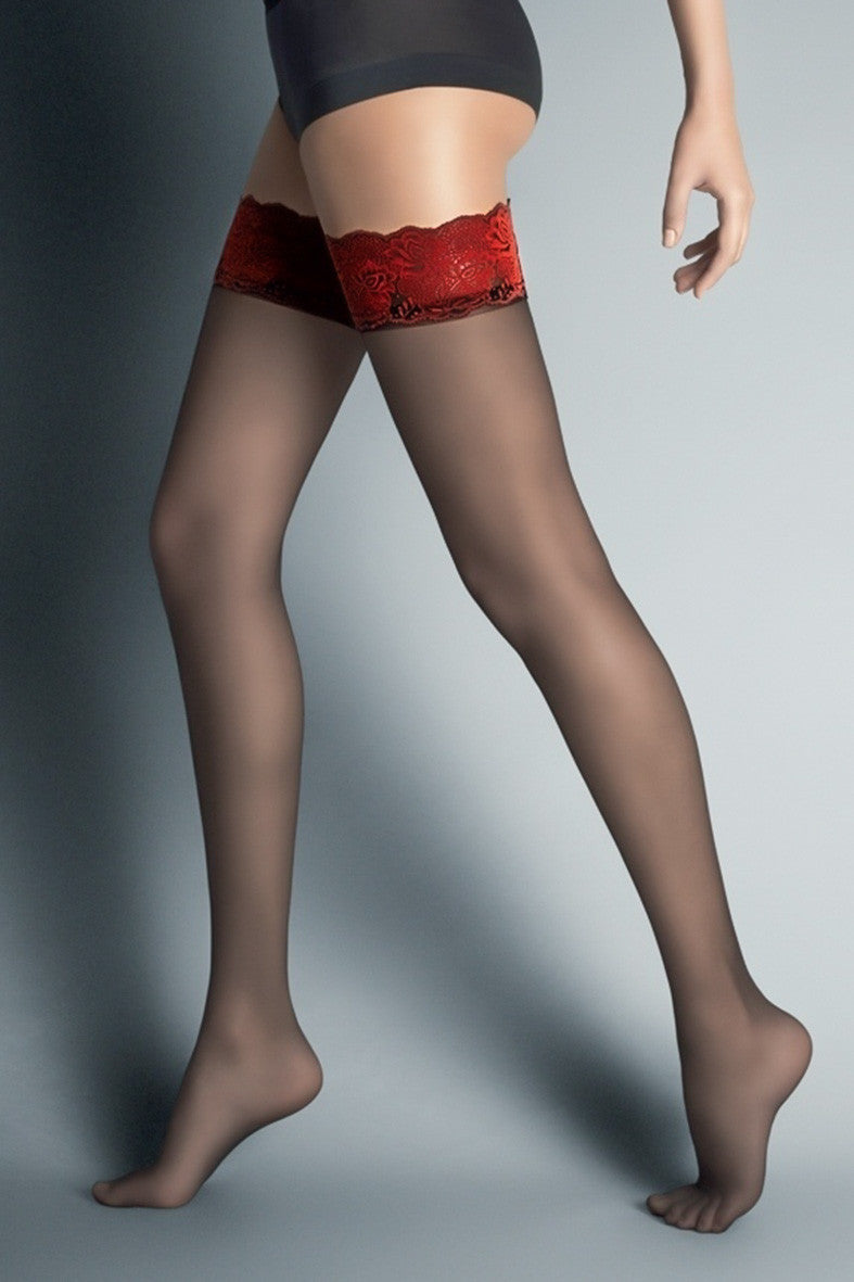 Veneziana Alessandra Hold Ups - Mayfair Stockings