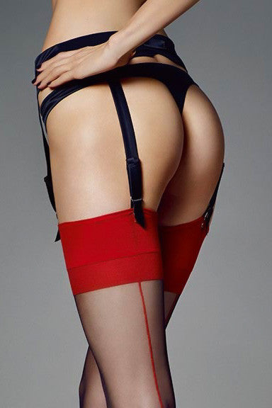 Veneziana Leticia Seamed Stockings - Mayfair Stockings - Veneziana - Stockings - 2