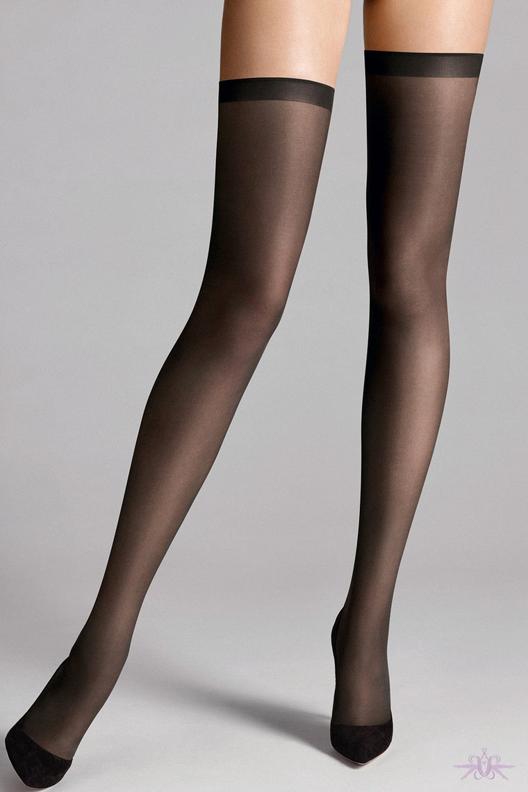 Wolford Fatal 15 Seamless Stay Ups
