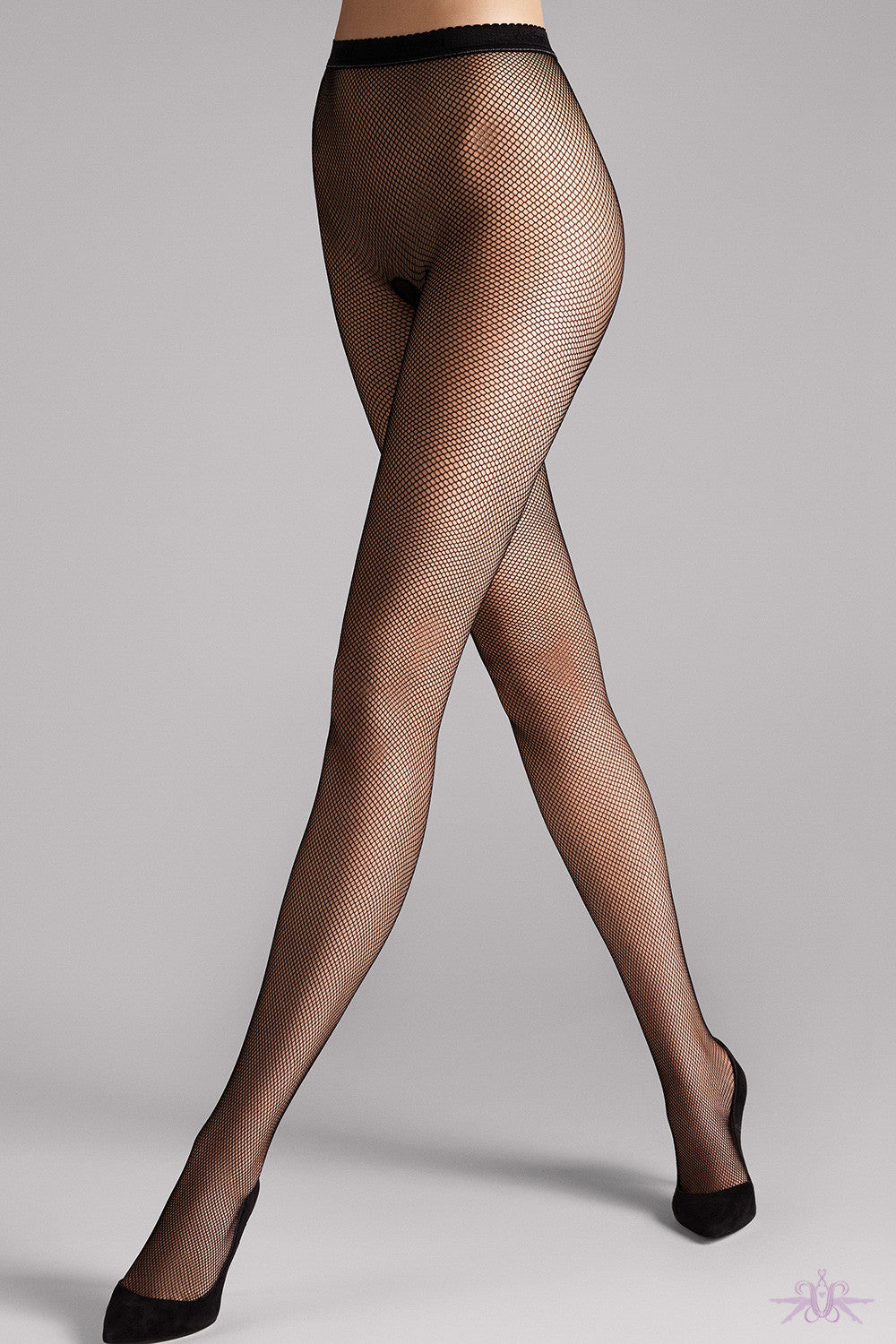 Wolford Twenties Fishnet Tights - Mayfair Stockings