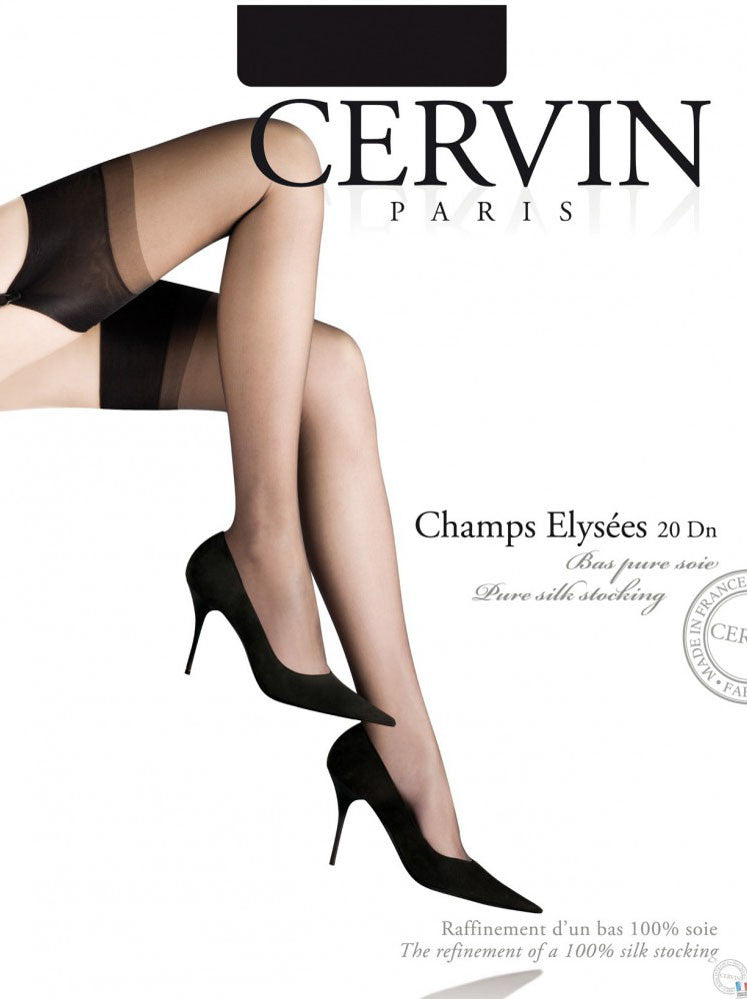 Cervin Champs Elysees Silk Stockings - Mayfair Stockings - Cervin - Stockings - 5