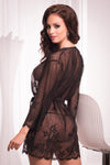 Diamond Dressing Gown - Mayfair Stockings