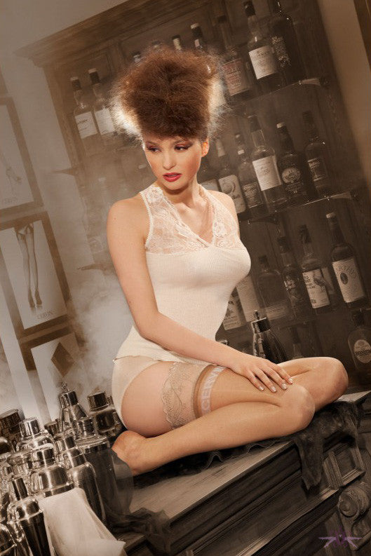 Cervin Divine Hold Ups - Mayfair Stockings