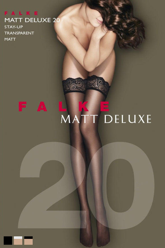 Falke Matt Deluxe 20 Hold Ups - Mayfair Stockings - Falke - Hold Ups - 2