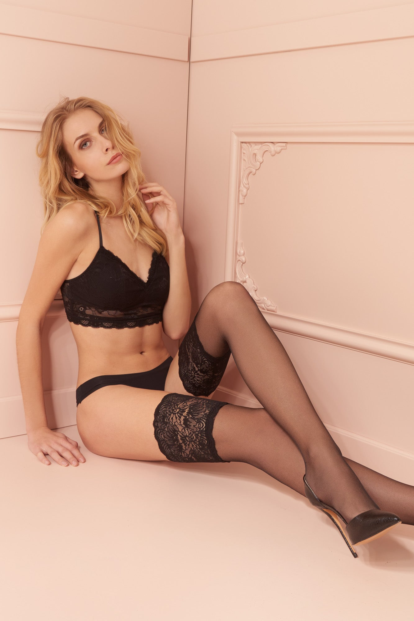 Trasparenze Carlotta 30D Hold Ups - Mayfair Stockings