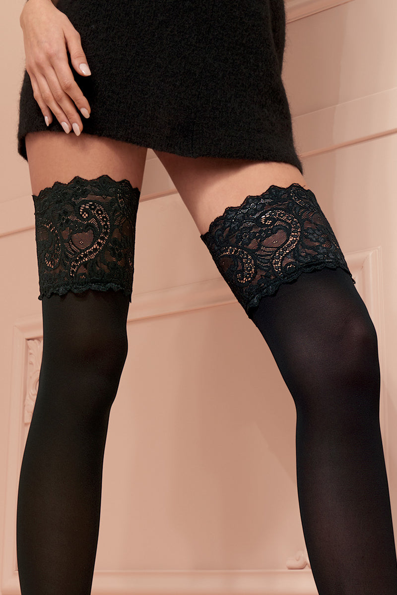 Trasparenze Lucrezia Hold Ups - Mayfair Stockings