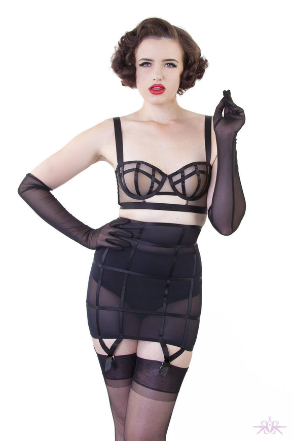 Playful Promises Bettie Page Mesh Gloves - Mayfair Stockings - Playful Promises - Extras - 1
