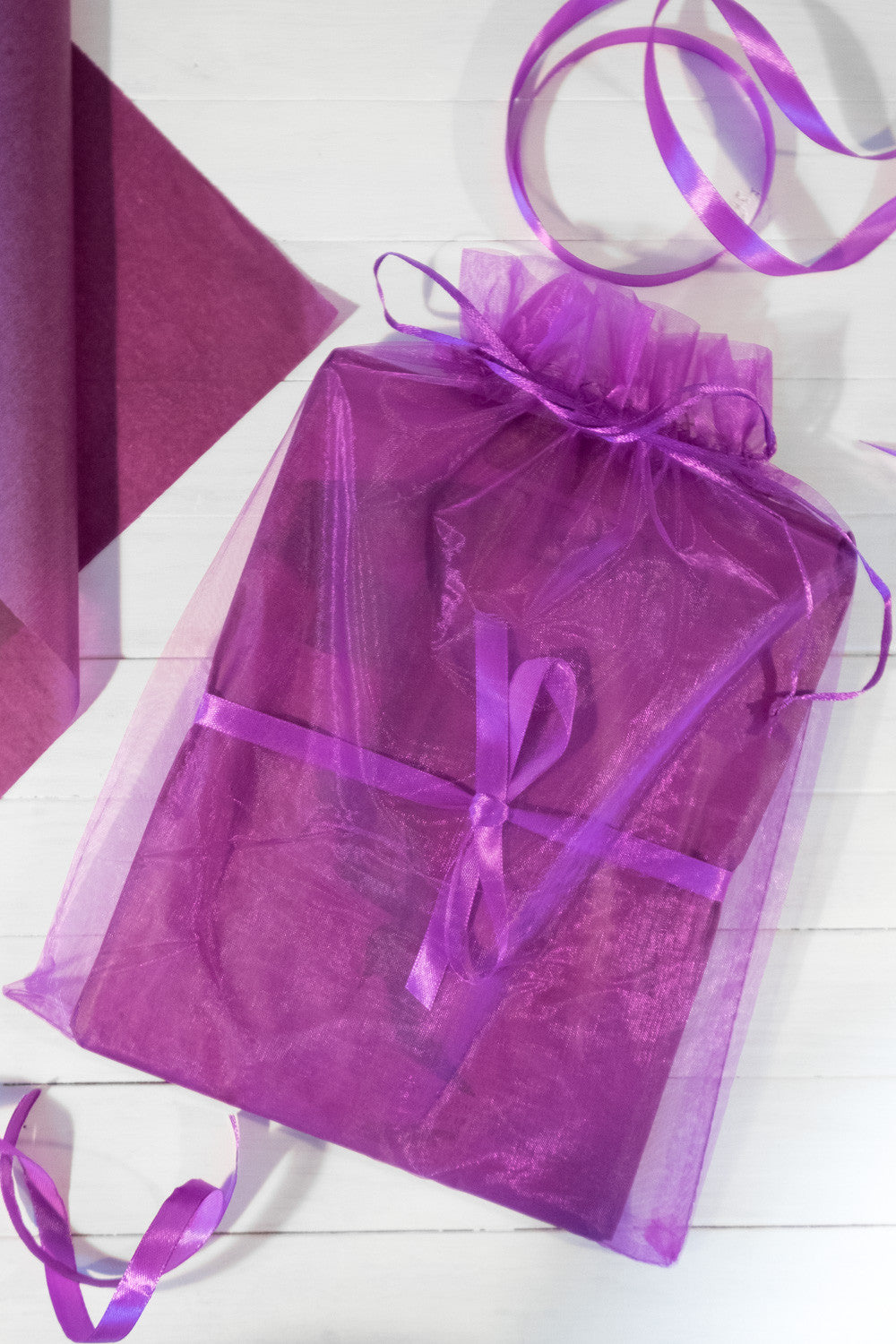 Organza Gift and Storage Bag - Mayfair Stockings - Mayfair - Extras - 1