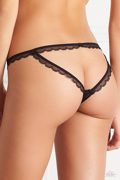 Maison Close Le Petit Secret Dentelle Openable Naked Panty - Mayfair Stockings