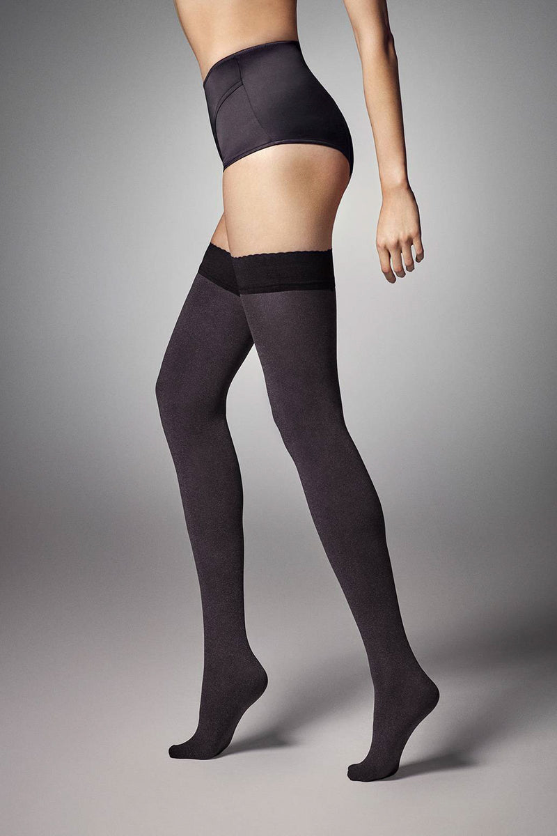 Veneziana Vera 60 Opaque Hold Ups - Mayfair Stockings