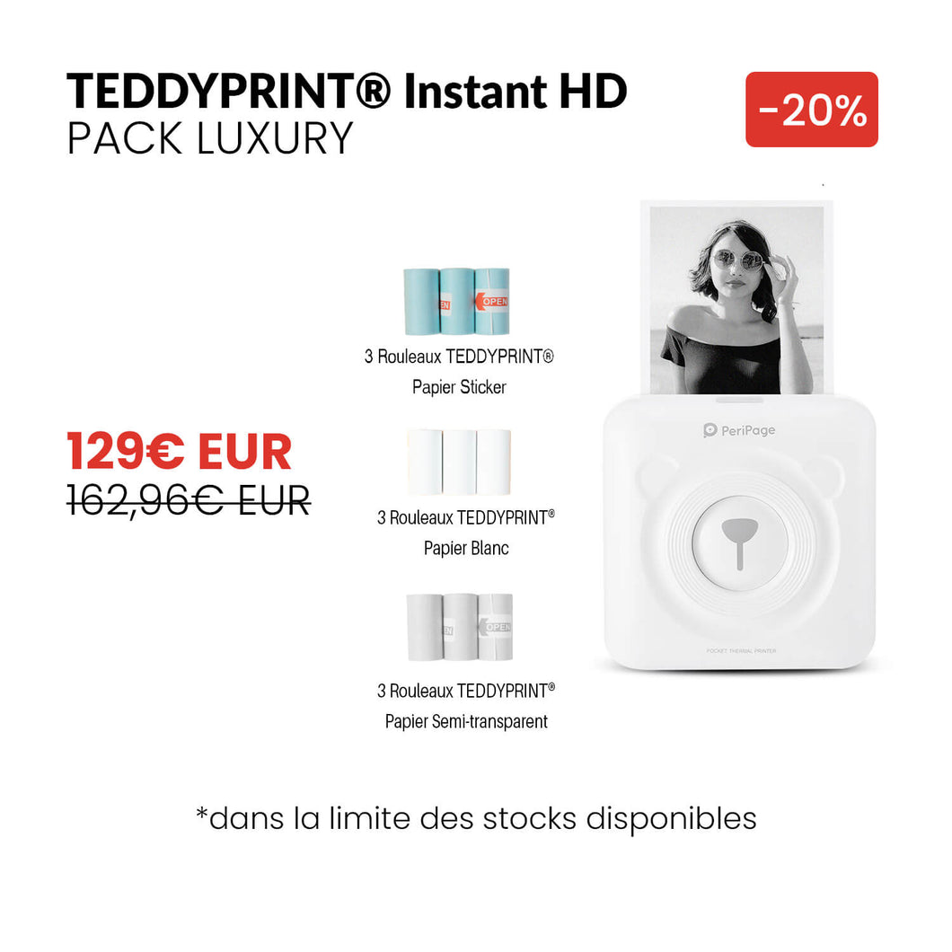 TEDDYPRINT® Instant HD Pack Luxury - TEDDYPRINT®