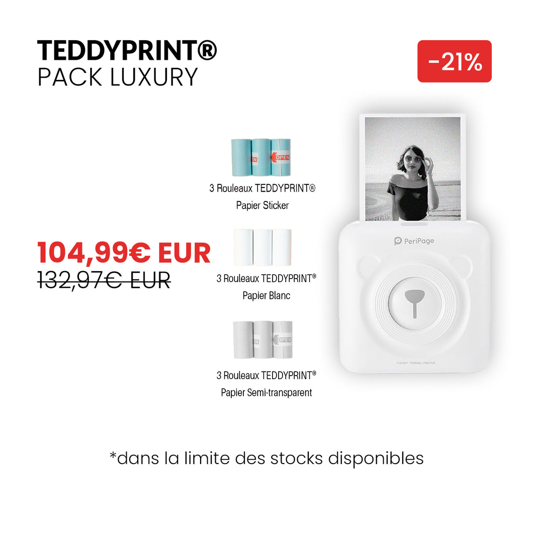 TEDDYPRINT® Pack Luxury - TEDDYPRINT®