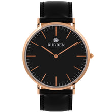 Load image into Gallery viewer, Classic Durden Watch - Black