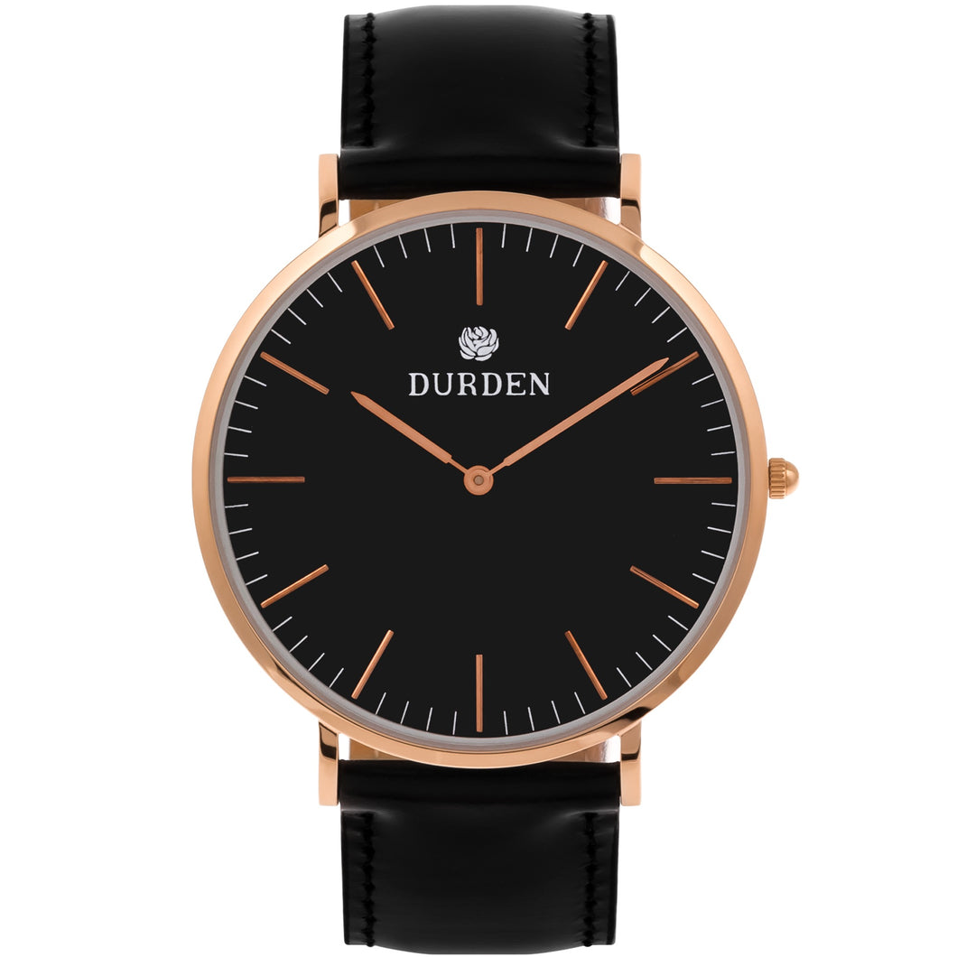Classic Durden Watch - Black