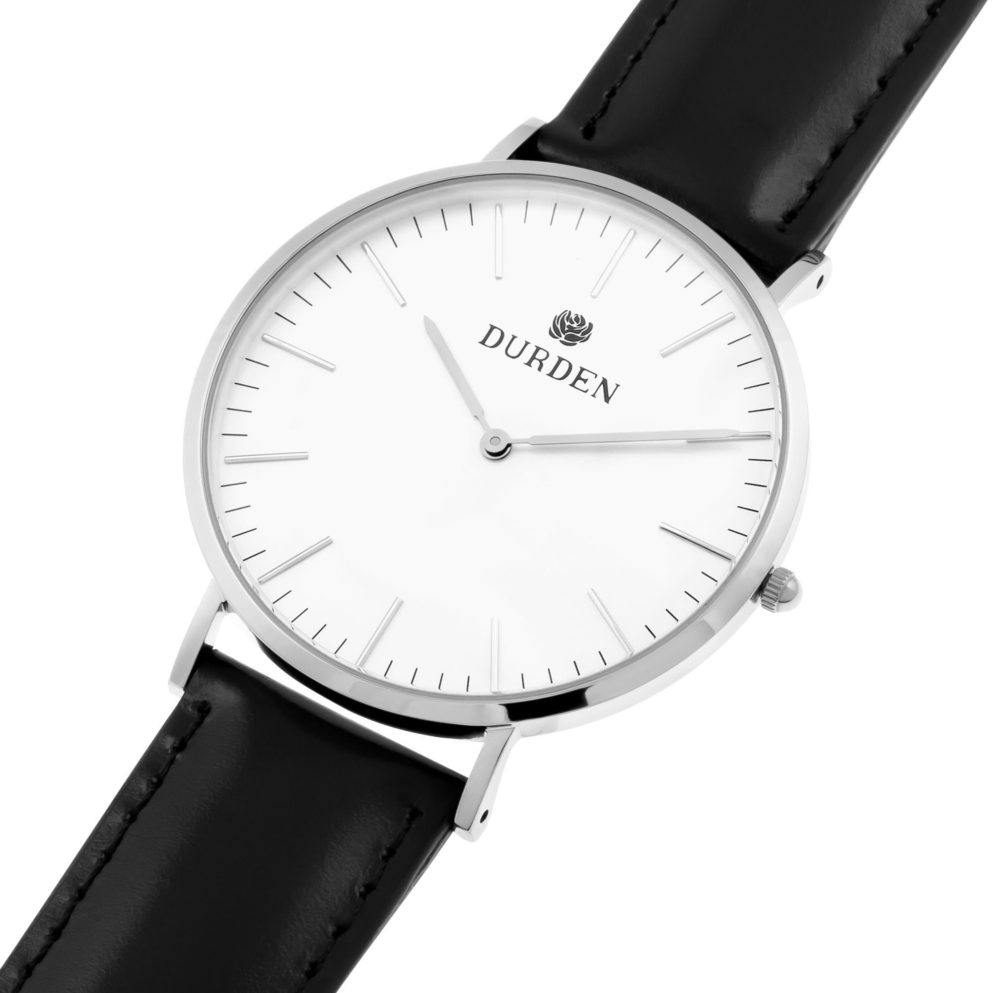 Logo White Watch