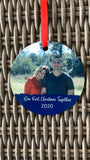 First Christmas Together Photo Christmas Ornament