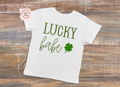 Lucky Babe Bodysuit or Shirt | Mommy & Me